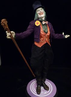 Victorian Era Joker and his 3 Ring Circus of Crime Entry by Doug