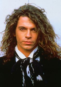 Tragic star:  INXS singer Michael Hutchence was found dead, hanging naked from the door of his hotel room at the Ritz-Carlton in Sydney, aged just 37, in November 1997. His death was recorded as suicide caused by depression, although his partner Paula Yates always maintained he would never kill himself, and his death was down to autoerotic asphyxiation.