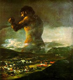El coloso, Goya