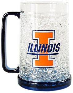 Illinois Fighting Illini Freezer Mug