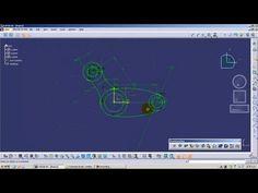 CATIA V5 Basic Beginner Tutorial - 1 | CATIA V5 Sketcher Tutorial - YouTube