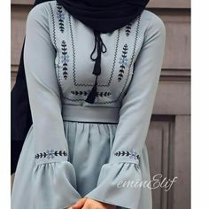 girly outfits – Well, the beauty of the colors e well the elegance of the patterns ? Modest Fashion Hijab, Hijab Style Dress, Modern Hijab Fashion, Islamic Fashion, Hijab Chic, Abaya Fashion, Hijab Outfit, Muslim Fashion, Fashion Dresses