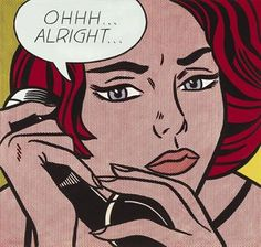 Roy Lichtenstein's 'Ohhh...Alright...' It's my friends fav piece of art. If she had 43 million, it would be hanging in her house.