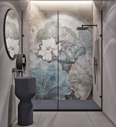 Modern Bathroom by QUADRO ROOM Современный су 3 м2