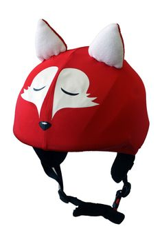 Fox universal helmet cover for ski by Helmetcovers.  $16.49.  Lots of others to choose too!