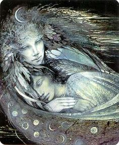 Selene dipinta da Susan Seddon