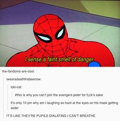 Ideas funny marvel jokes spider man for 2019 Marvel Avengers, Marvel Jokes, Marvel Funny, Marvel Films, Marvel Dc Comics, Dc Memes, Funny Memes, Hilarious, Tom Holland