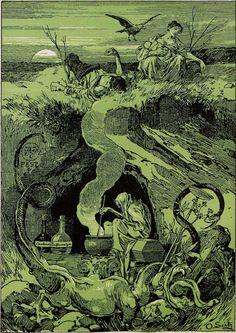From Jugend, 1896. Dansk Jävlarna