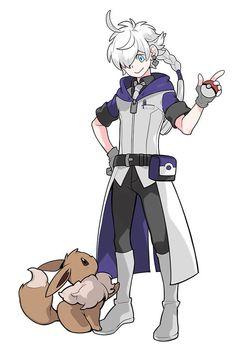 Pokemon Rpg, Pokemon Pokedex, Pokemon Comics, Cute Pokemon, Final Fantasy Artwork, Final Fantasy Xiv, Digimon, Pokemon Trainer Outfits, Pokemon People