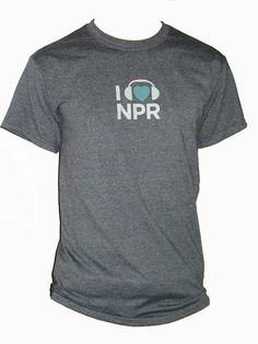 I 'Heart' NPR T-Shirt - Clothing - Wear : NPR Shop $24