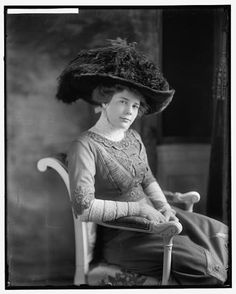 Miss Ethel Roosevelt, youngest daughter of Teddy Roosevelt, served as a nurse in WWI France. She was a devoted Red Cross volunteer for over 60 years, chairing the Nassau County (NY) Red Cross during WWII. Ethel was alsoinstrumentalin turning her childhood home, Sagamore Hill, into a National Historic Site.