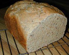 Spelt Bread (Bread Machine) - Bread and pastries - Bread Spelt Recipes, Bread Maker Recipes, Flour Recipes, Pastry Recipes, Sprouted Grain Bread, Vegan Bread, Vegan Food, Bread And Pastries, Spelt Flour Bread Machine Recipe