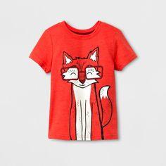 Toddler Boys' Short Sleeve T-Shirt Cat & Jack Orange Spark Toddler Boy Outfits, Toddler Boys, Animal Print Tees, Dark Jeans, Boys T Shirts, Boy Shorts, Tank Top Shirt, To My Daughter, How To Look Better
