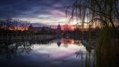 ***Royal Palace of Aranjuez at sunset by Ander Alegria (Spain)