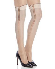 Ladies Patterned Hold ups Stay ups Stockings Rosette Hosiery Legs