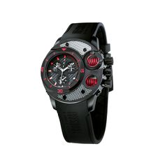 Commando // Black + Red - nice watch. From Touch of Modern.