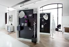 The Showroom At De Waterkant, Cape Town Features The Hansgrohe U0026 AXOR Taps  U0026 Shower Heads, A Wet Area For Live Shower Testing, U0026 Training