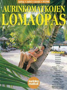 #Aurinkomatkat lomaopas syksy, talvi, kevät 1997-98 #retro Rayong, Krabi, Luxor, Marrakech, Orlando, 1980s, Australia, Retro, Jordan Spieth