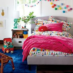 Hit the Town Kids Flannel Bedding, Twin size #nodwishlistsweeps