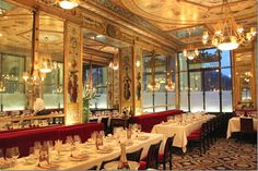 Le Grand Vefour restaurant in Paris; Howard Slatkins favorite
