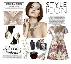 """Style Icon"" by victoriav ❤ liked on Polyvore featuring LULUS, Jimmy Choo, Valentino, Avon, Gucci, Pier 1 Imports and Burberry"