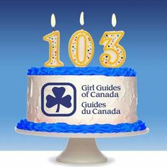 Happy 103rd to Girl Guides of Canada
