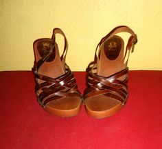MIA Never Worn Boho 70s Dark Brown Leather Fuax by aintweswank