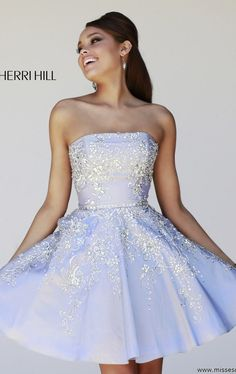 Sherri Hill 21362 by Sherri Hill. pretty! I think it would be more pretty if the dress was longer