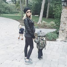 Kristin Cavalleri and her little boys