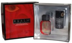 Realm by Erox for Men Cologne + Deodorant Gift Set by Realm. $24.90. Realm Deodorant for Men 3.0 oz / 85 g. Realm Cologne Natural Spray 1.7 oz / 50ml. Realm by Erox 2 Pc Gift Set for Men