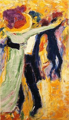 Emile Nolde - The Dance #2, 1911