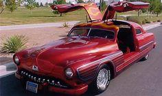 1951 Lincoln Custom - gull wing doors customised