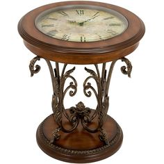 Timepiece End Table