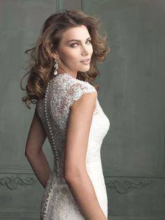 ALLURE BRIDALS 9113 Talla 4 - De noviaa novia