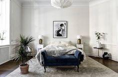 Nordic Glam - Lo ideal es partir de una base con una paleta de colores nórdica: el gris y el blanco.
