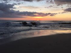 Santa Teresa Sunset Costa Rica