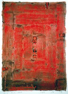 Takahiko Hayashi: D-5, Feb.1999, Mixed media on paper