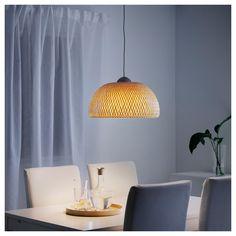 IKEA BÖJA pendant lamp Each handmade shade is unique.