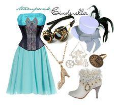 steampunk Disney princesses Cinderella