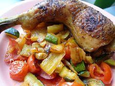 Cuketová pikantná zmes - Výborná zeleninka pod mäsko, alebo len tak ku hriankam.