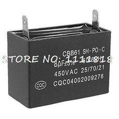 Дешевое Cbb61 кондиционер двигателя вентилятора рабочий конденсатор 8 мкФ 450 В переменного тока, Купить Качество Прочие электронные компоненты непосредственно из китайских фирмах-поставщиках:       CBB61 кондиционер вентилятор Мотор работает конденсатор 8 мкФ 450 В переменного тока              Спецификация: