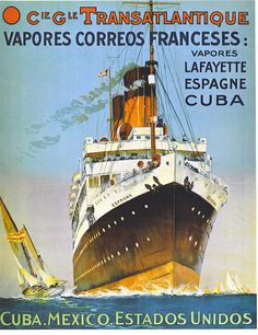 French Line ~ CGT ~ Compagnie Générale Transatlantique