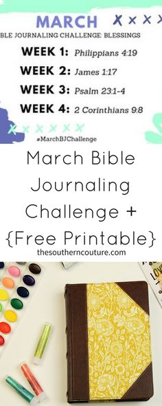 Set your focus on the blessings in your life this month with this March Bible Journaling Challenge that even comes with a FREE printable. Come print yours now!