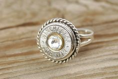 Hey, I found this really awesome Etsy listing at https://www.etsy.com/listing/156882006/sterling-silver-rope-bullet-ring-custom