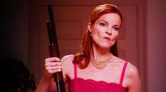 How to get rid of an unwanted house-guest. Desperate Housewives Bree, Bree Van De Kamp, Marcia Cross, Ariana, Housewife, Favorite Tv Shows, Actors & Actresses, Wonder Woman, Celebrities