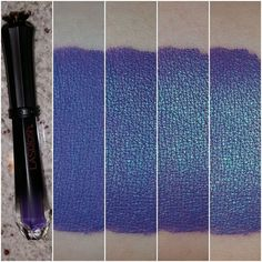 Holy activation Batman!!! 😲 @lasplashcosmetics Runic is my new love and I'm obsessed! 😍😍 Thanks so much LaSplash for letting me know I can get more sparkle by massaging with my finger, I had no idea! 😣😭 Here's my journey to sparkle overload: From left to right, my swatch starts out after I applied it and then my progress of making it shine brighter and brighter! I can't believe how many pearl pigments are in this shade and how much it transformed... no words. I'm stunned to silence 💋💋…
