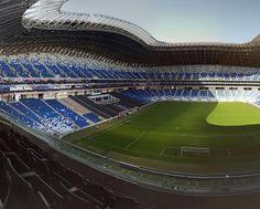 Que cosa tan hermosa #EstadioBBVA #monterrey #Rayados #soccer #ligamx