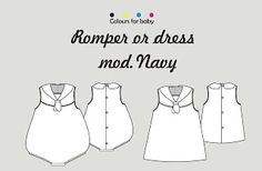 Cose conmigo una ranita o vestido marinero   Handbox Craft Lovers   Comunidad…