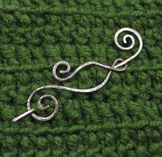 Rustic Pin Brooch Copper Shawl Pin Scarf Pin by SilverJewelryElena 19$ #brooch #rustic #shawl #pin