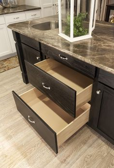 Pots & Pans Drawers in #Kitchen Island